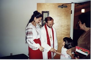 Rev. Brockdorf's Ordination as missionary at large in Naples, Florida 1999